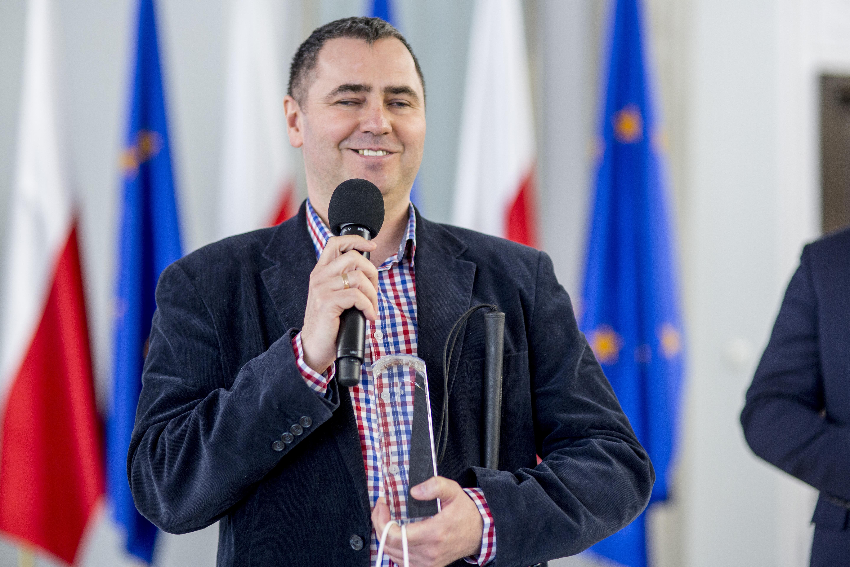 Lider Cyfrowej Dostępności Jacek Zadrożny