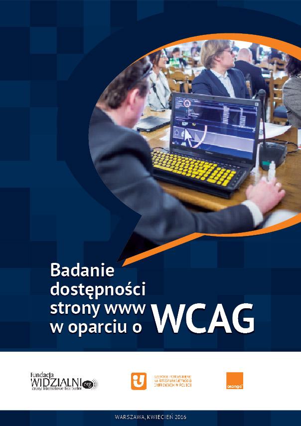 Pobierz Badanie dostępności stron www w oparciu o WCAG - okładka